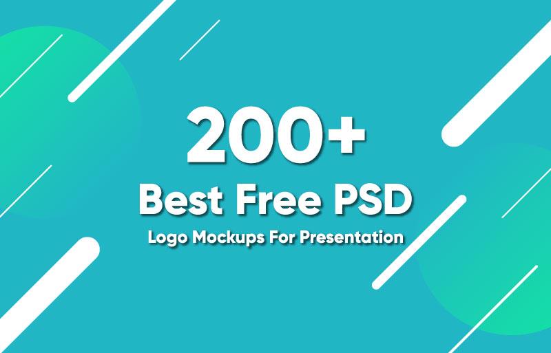 Best Free PSD Logo Mockups For Presentation