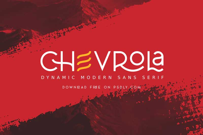 AL CHEVROLA Regular Font Fontbundles