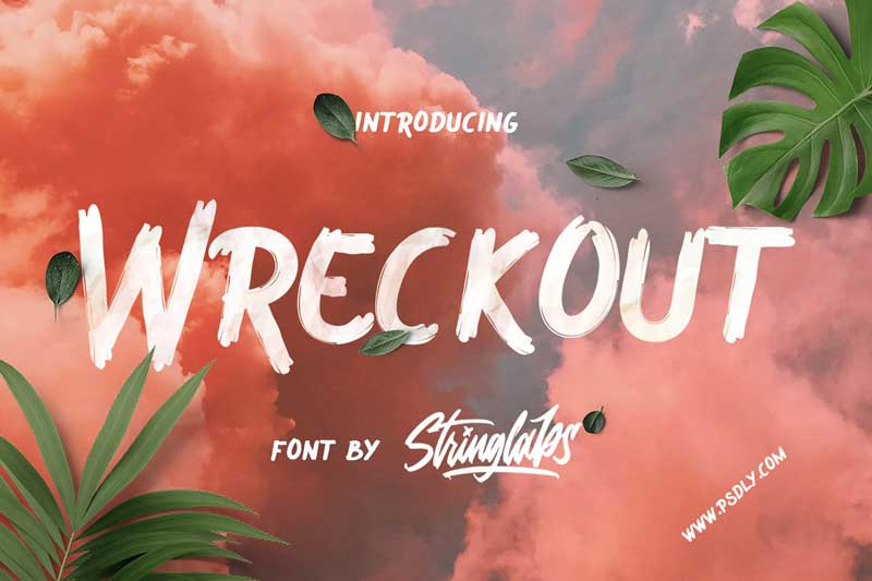 Wreckout Decorative Brush Free Download