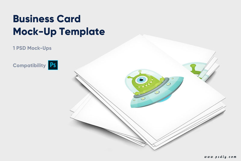 Business card mock up template Vol. 4