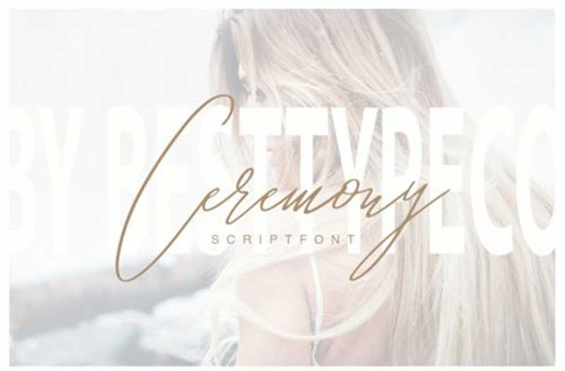 Ceremony Font Free Download