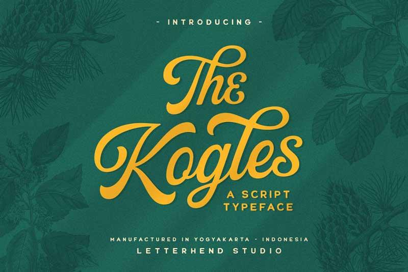 The Kogles Script Typeface 4632758