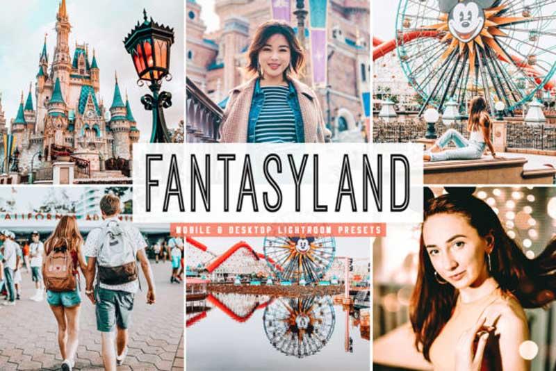 Fantasyland Lightroom Presets Pack