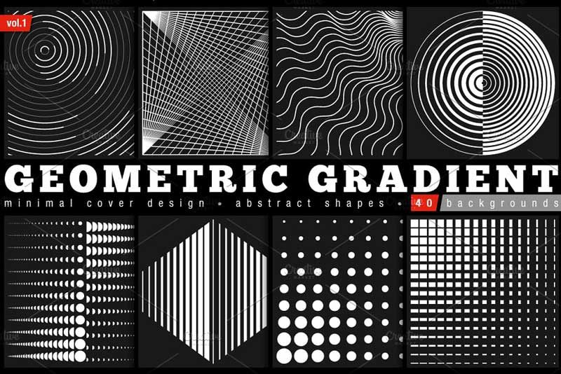 Geometric Gradient Shapes 1929382 Download Free