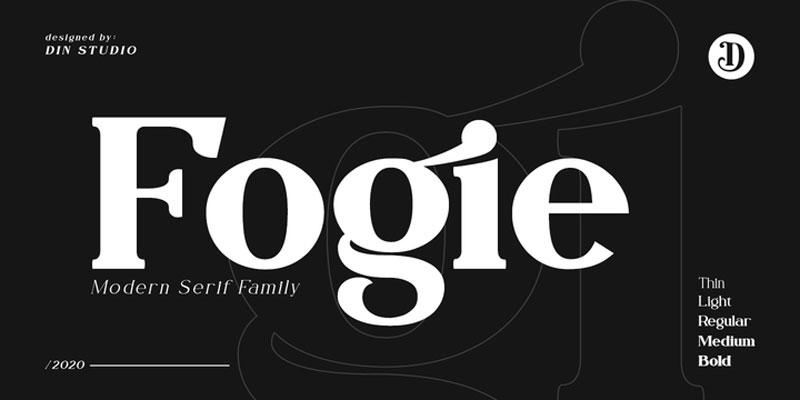 Fogie Font Family 10 Fonts
