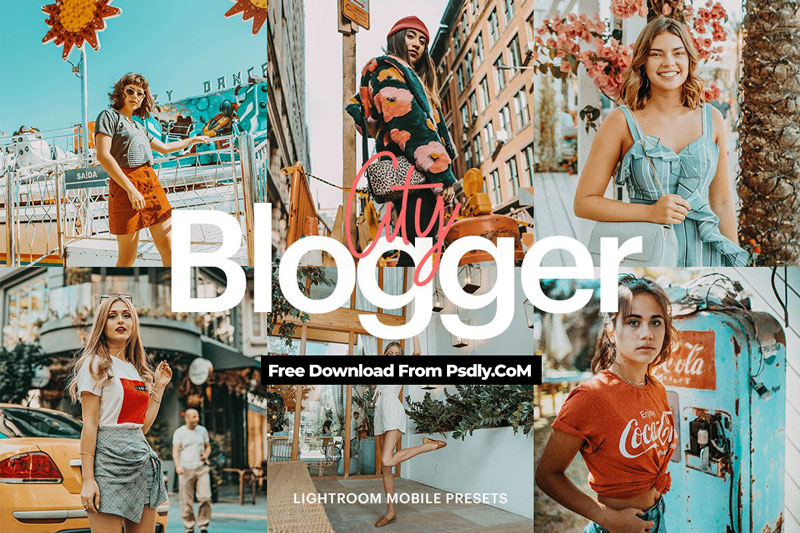 Lightroom Preset Blogger City Theme 4971945 Free Download