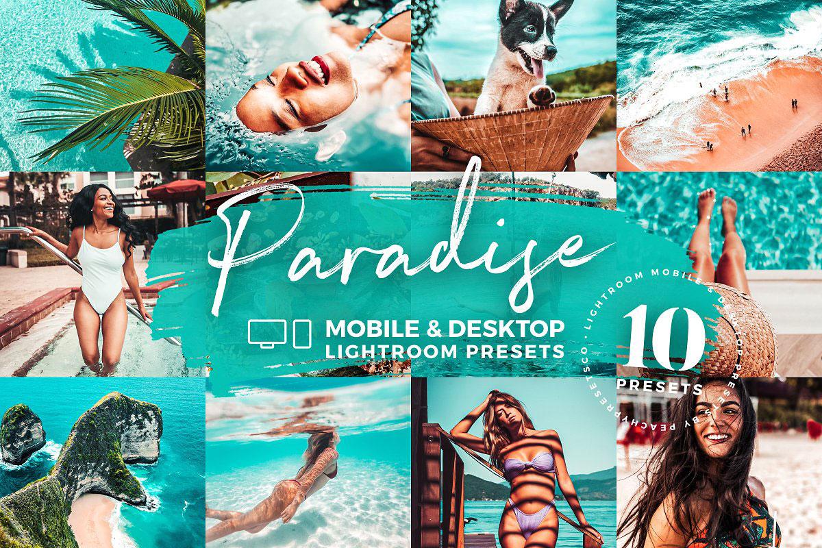10 Paradise Lightroom Mobile Presets 5143083