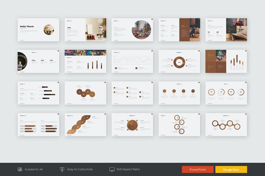 Chocho Presentation Powerpoint Template