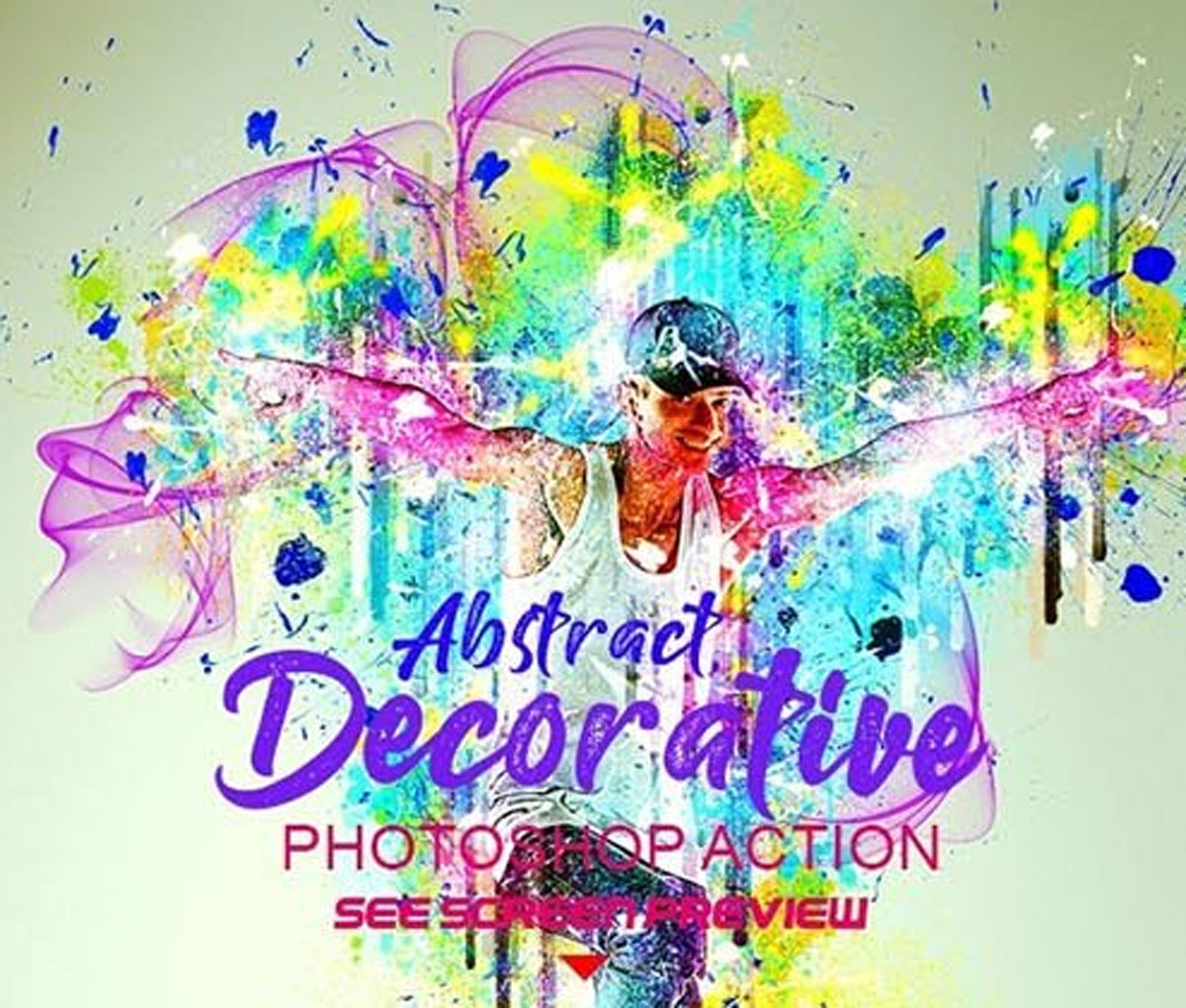 Abstract Painting Photoshop Action 26539921