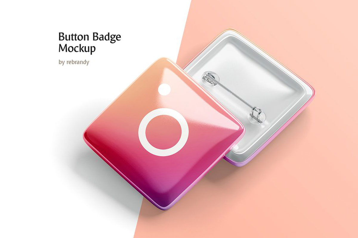 Button Badge Mockup 5143135