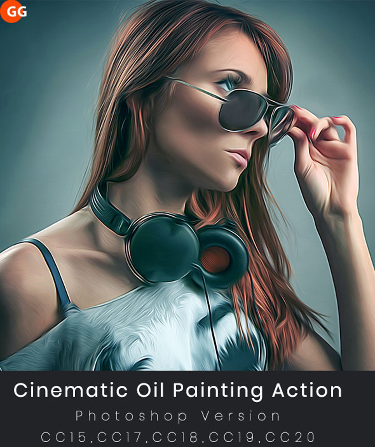 Cinematic Oil Painting Action 26538552