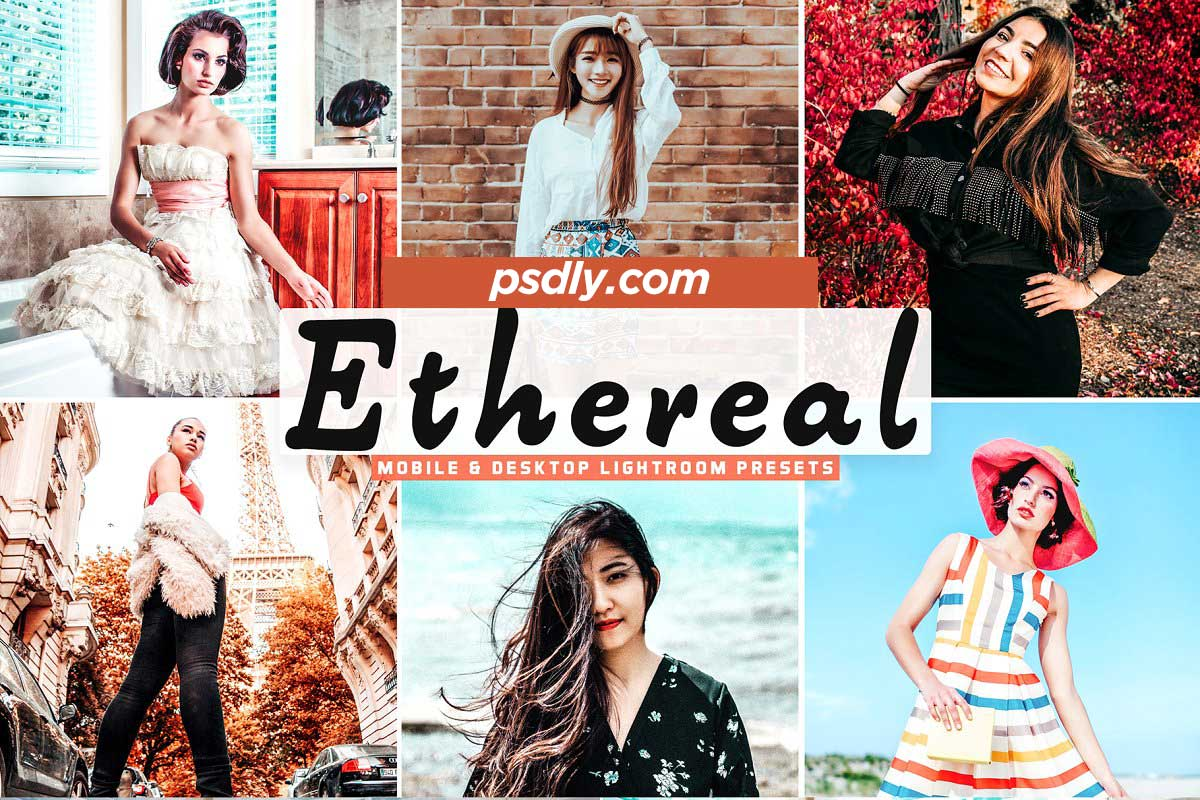 Ethereal Pro Lightroom Presets 5208703