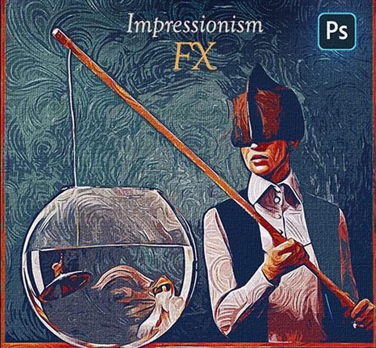 Impressionism Paint FX - Photoshop Add-On 27734189