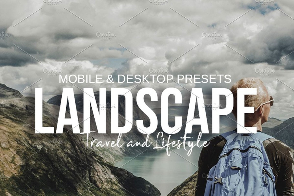 LANDSCAPE Lightroom Presets 5115189