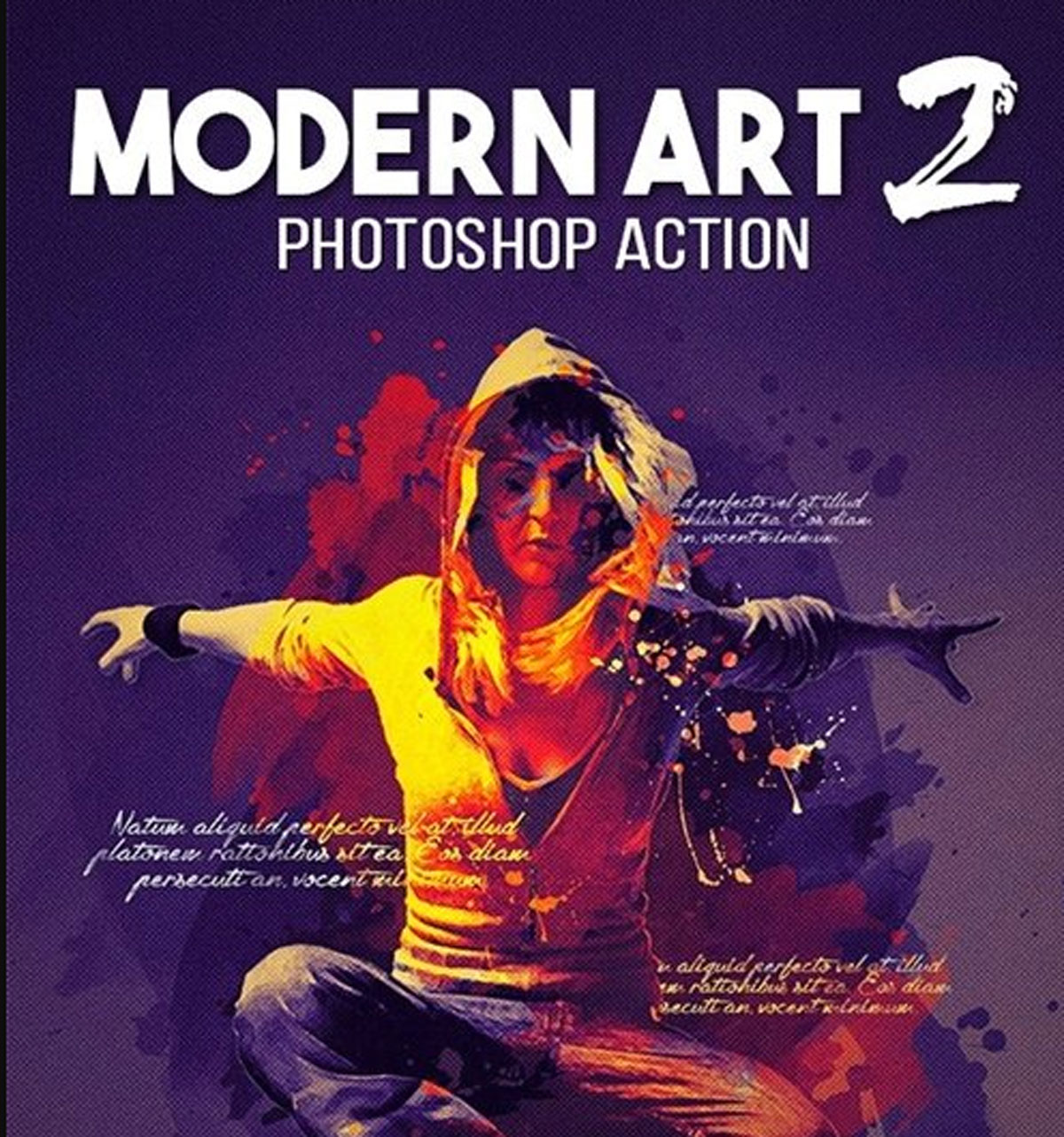 Modern Art 2 Photoshop Action 18205403