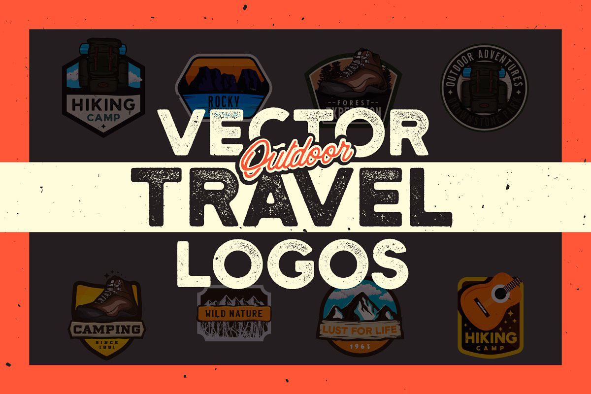 OoutDoor Travel Logos 2920343