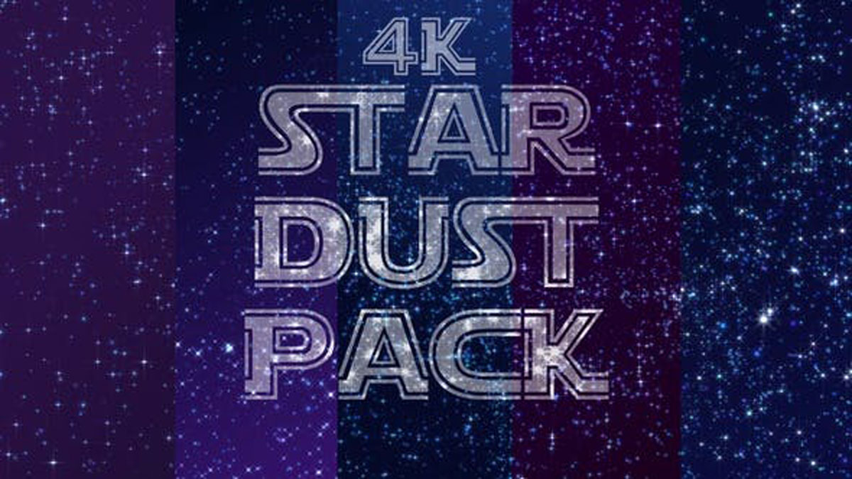 Videohive 4k Stardust Pack 25847599