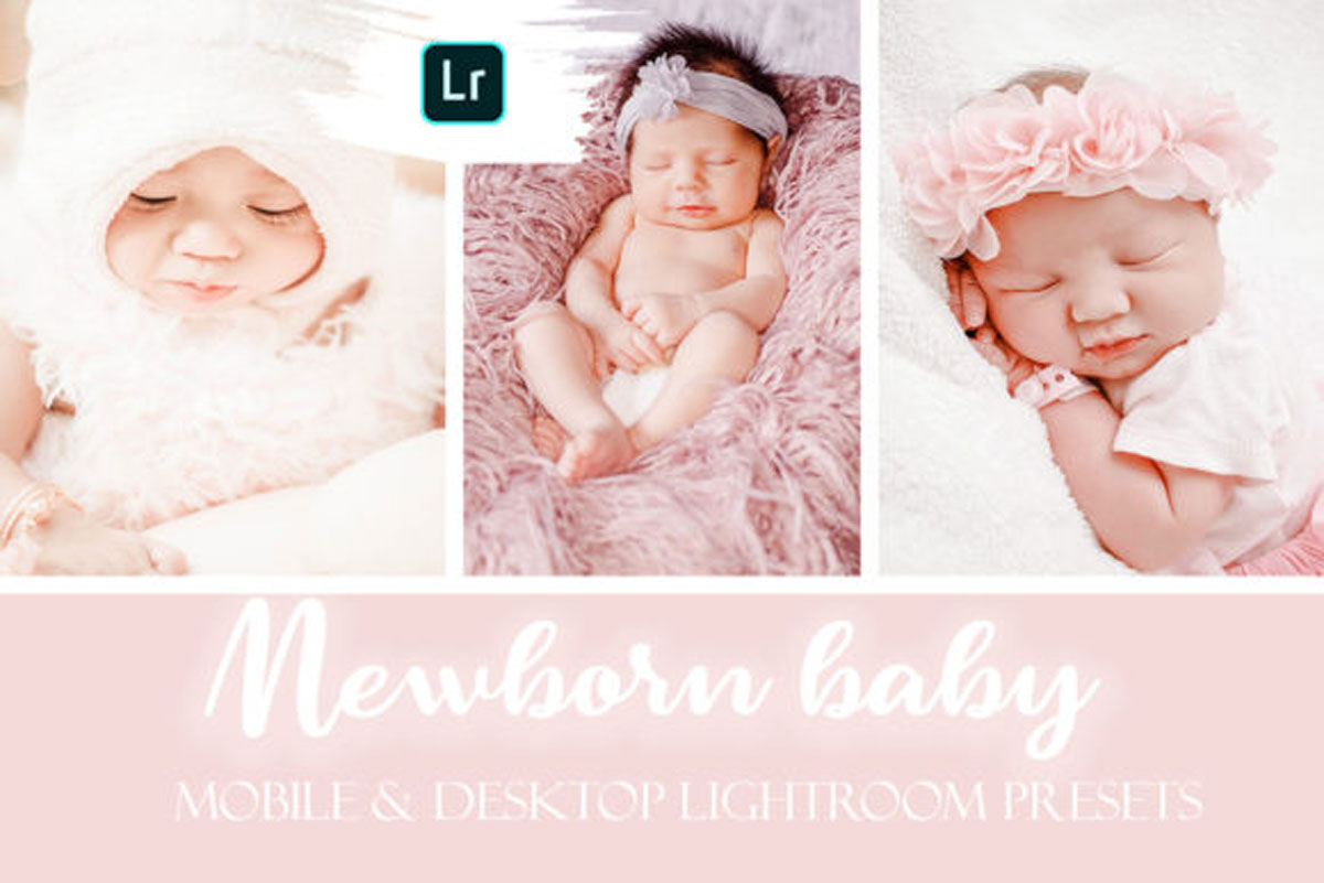 Newborn Baby Lightroom Presets